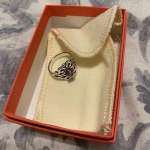 James Avery birth stone Spanish Lace Ring